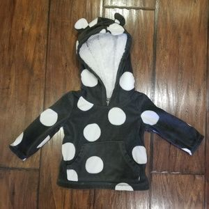 Bear Ear Pullover Sweater 6M